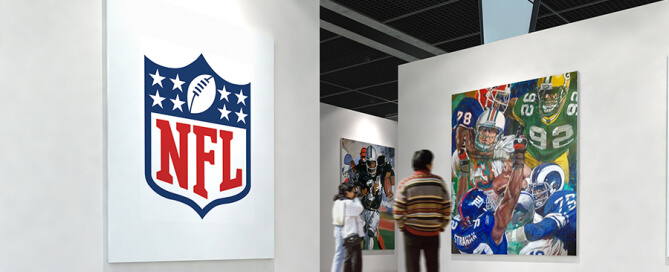 Deacon Jones NFL Art Program
