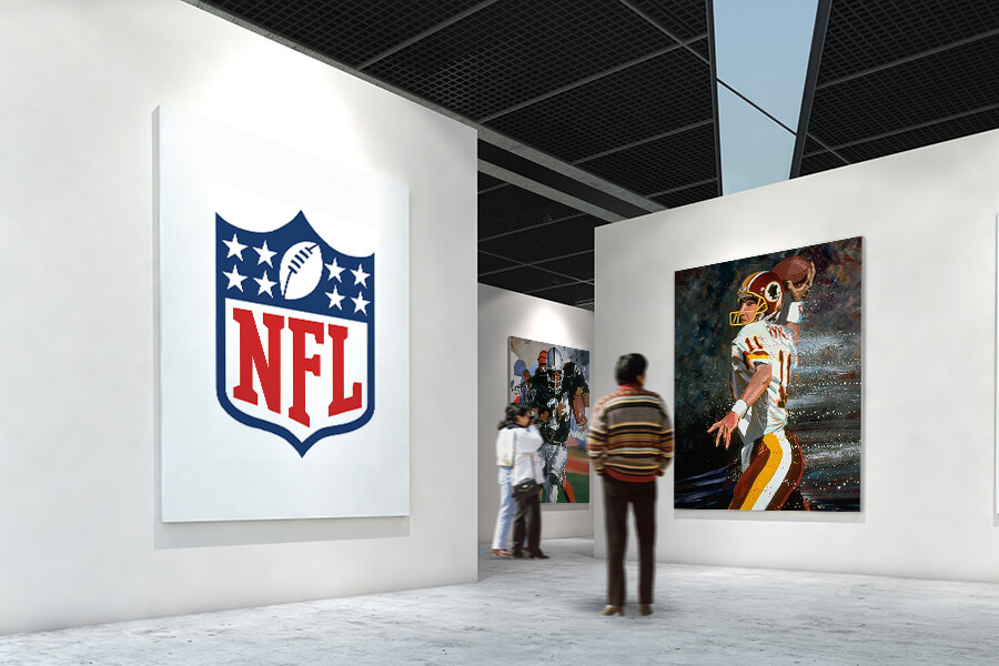 Officially Licensed NFL Art