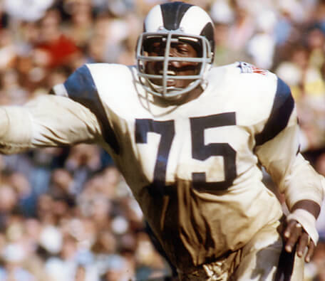 Deacon Jones #75 LA Rams