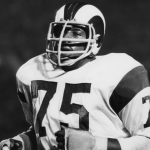 Rams Football Player Deacon Jones