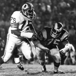 Deacon Jones Rams Hall of Famer