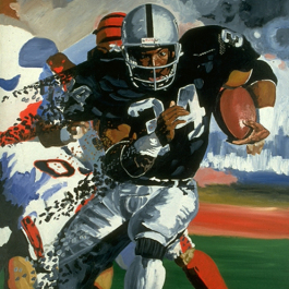 Ebolution - Bo Jackson Painting