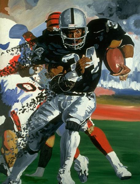 Ebolution - Bo Jackson Painting