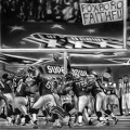 Super Bowl XXXVI painting.