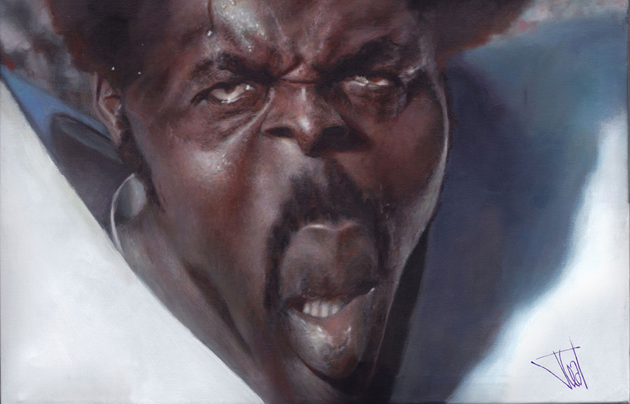 Deacon Jones Art by Jotal Leal