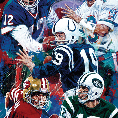 NFL Art of the Pennsylvania Passers