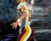 Washington Redksin Mark Rypien Painting