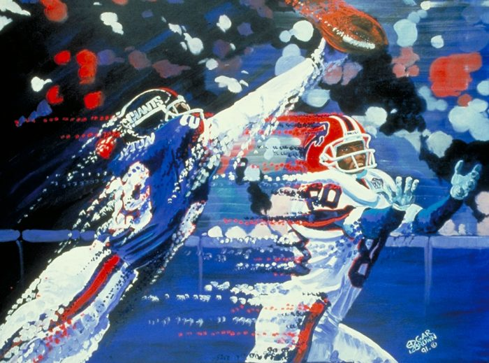 New York Giants Painting by Edgar J. Brown