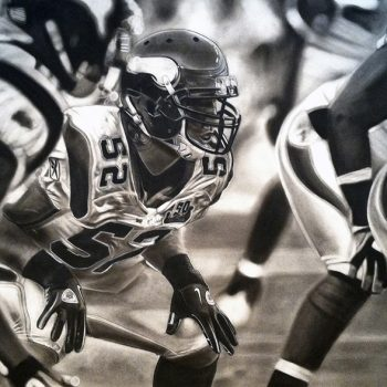 Minnesota Vikings Defense Artwork