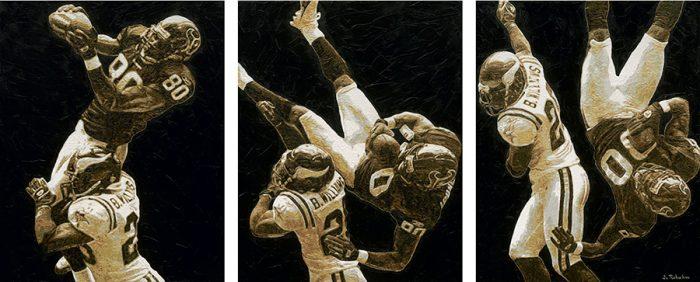 Andre Johnson Houston Texans Painting