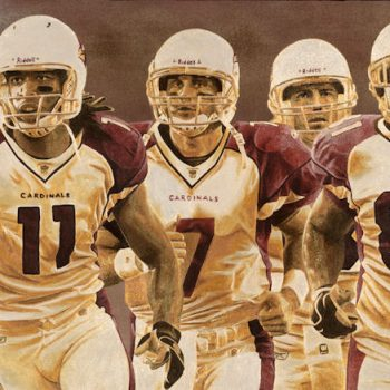 NFL Art of the Arizona Cardinals