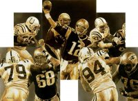 NFL Art of New England Patriots Tom Brady
