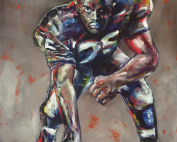 Deacon Jones Painting