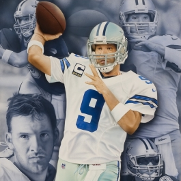 Tony Romo by Rob Jackson