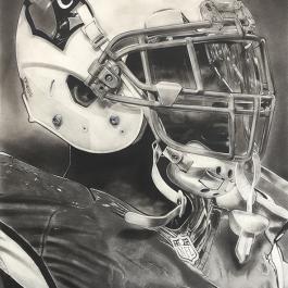NFL Painting of the Arizona Cardinals