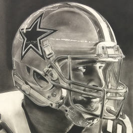 NFL Painting of the Dallas Cowboys