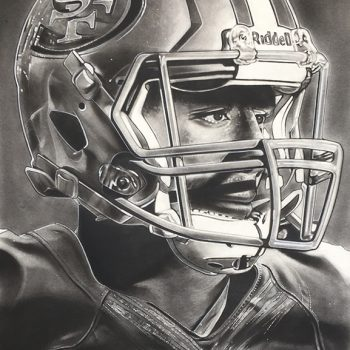 NFL Painting of the San Francisco 49ers