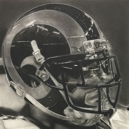 NFL Painting of the St Louis Rams