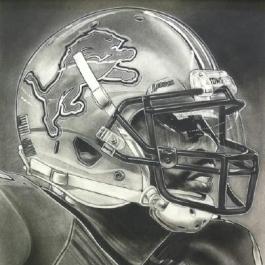 Detroit Lions Helmet Series