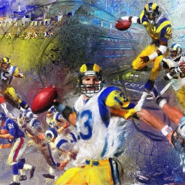 Homeward Bound-LA Rams Trubisky_48x36