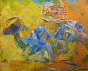NFL Painting of Tom Brady