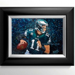 Philadelphia Eagles Carson Wentz Painting