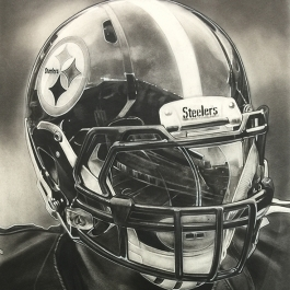 Pittsburgh Steelers Helmet Series