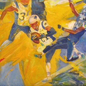 NFL Art of the New England Patriots